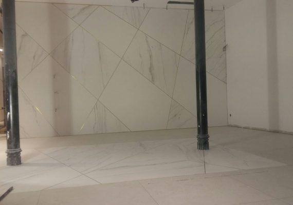 Instalación Techlam para Alba Conde